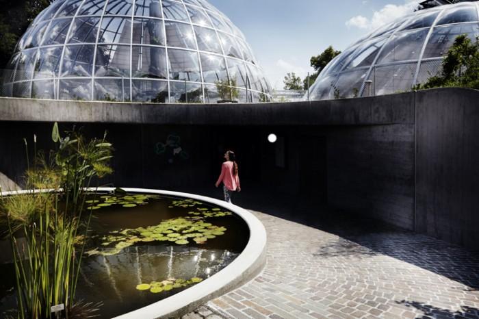 Noe Flum Zürich Tourismus Botanischer Garten Glaskuppel