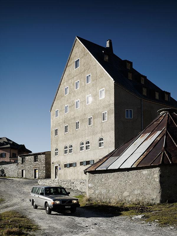 Markus Bertschi Gotthard Hospiz europaeisches Kulturerbe