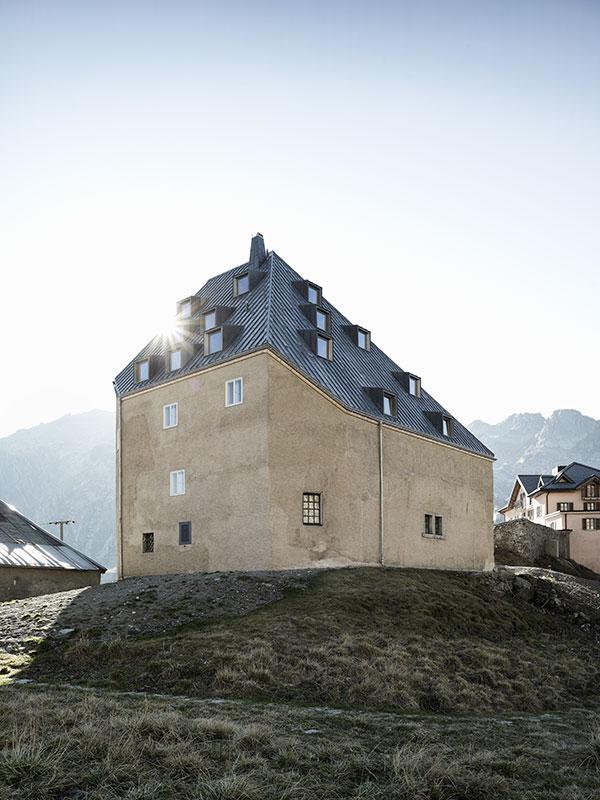Markus Bertschi Gotthard Hospiz Hospental europaeisches Kulturerbe