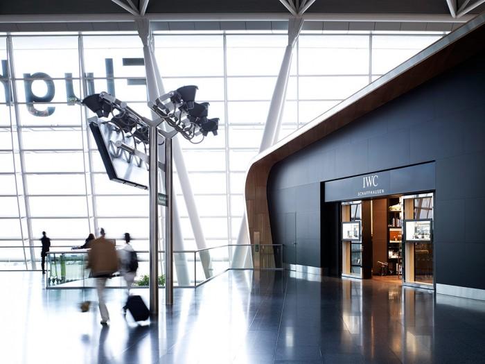 Markus Bertschi Flughafen Zürich Abflughalle