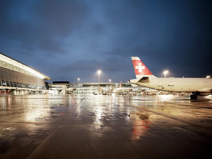 Markus Bertschi Flughafen Zürich Piste