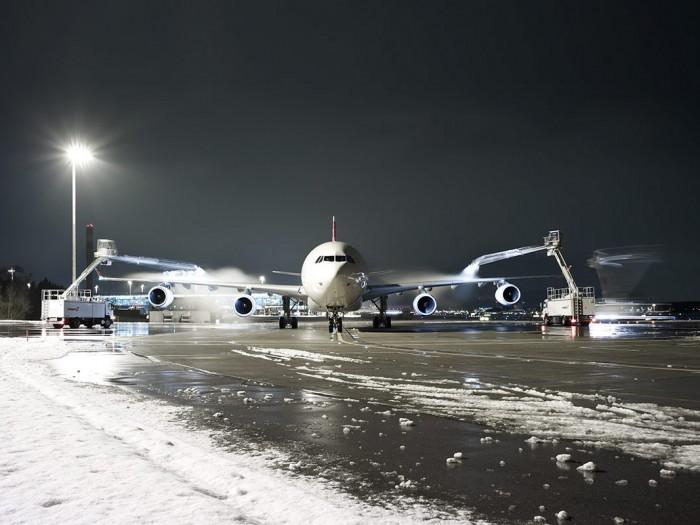 Markus Bertschi Flughafen Zürich Piste enteisen