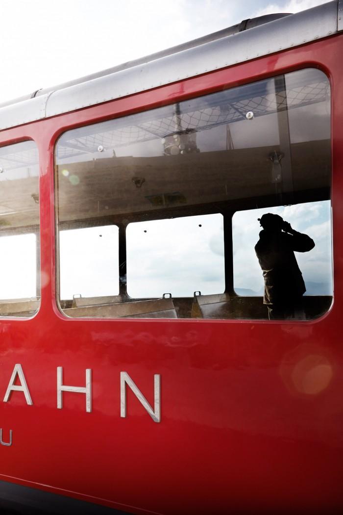Noe Flum Bergbahn Vitznau-Rigi-Bahn Niklaus Riggenbach älteste Zahnradbahn Europas