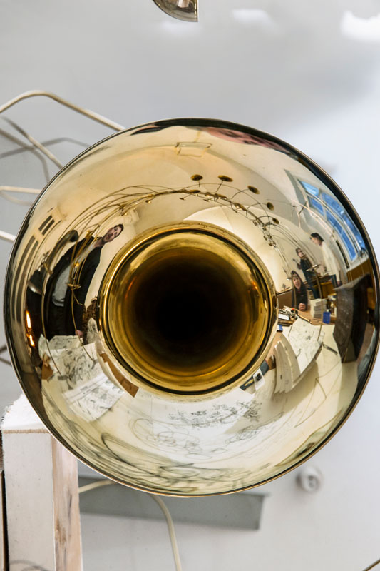 Markus Roessle Constantin Luser Musik zaehmt die Bestie Katalog Trompete