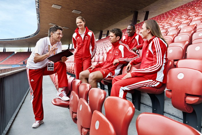 Markus-Bertschi Peter Haas Chef Leistungssport Swiss Athletics Lias Urech Nicole Büchler Marc Schneeberger Alex Wilson