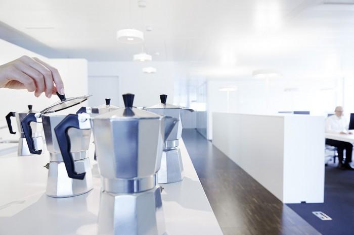Noe Flum SIX Geschäftsbericht 2014 Effizienz Kaffee