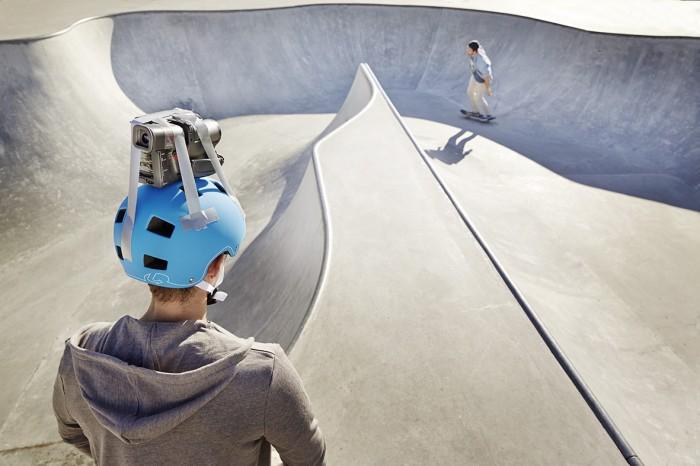Noe Flum SIX Geschäftsbericht 2014 Risiko Höhenflug Skater Halfpipe