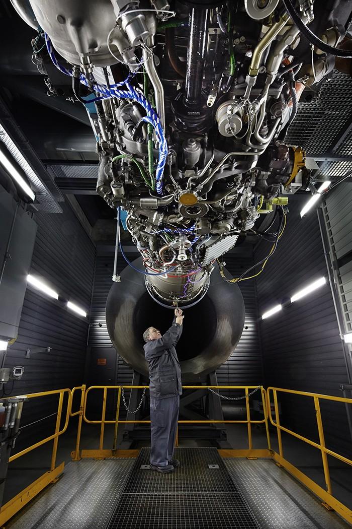Noë Flum RUAG Aviation Triebwerk F/A-18 Prüfstand Ennetmoos