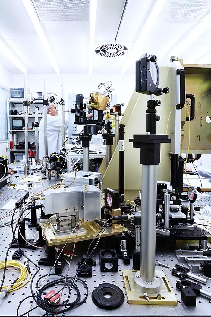 Noë Flum RUAG Laserkommunikationsterminal