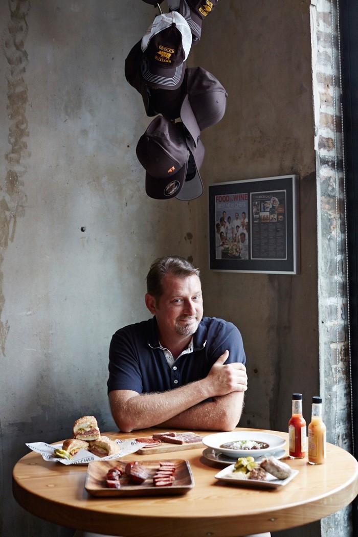 Markus Bertschi New Orleans Cochon Butcher Donald Link Cajun Food