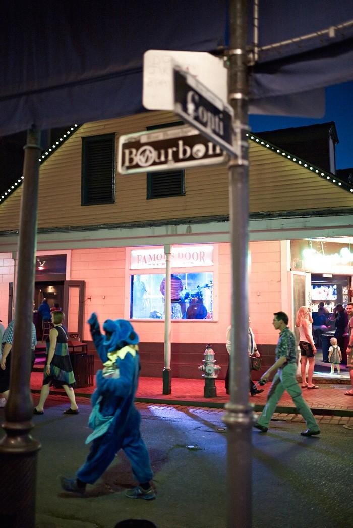 Markus Bertschi New Orelans Bourbon Street Nacht