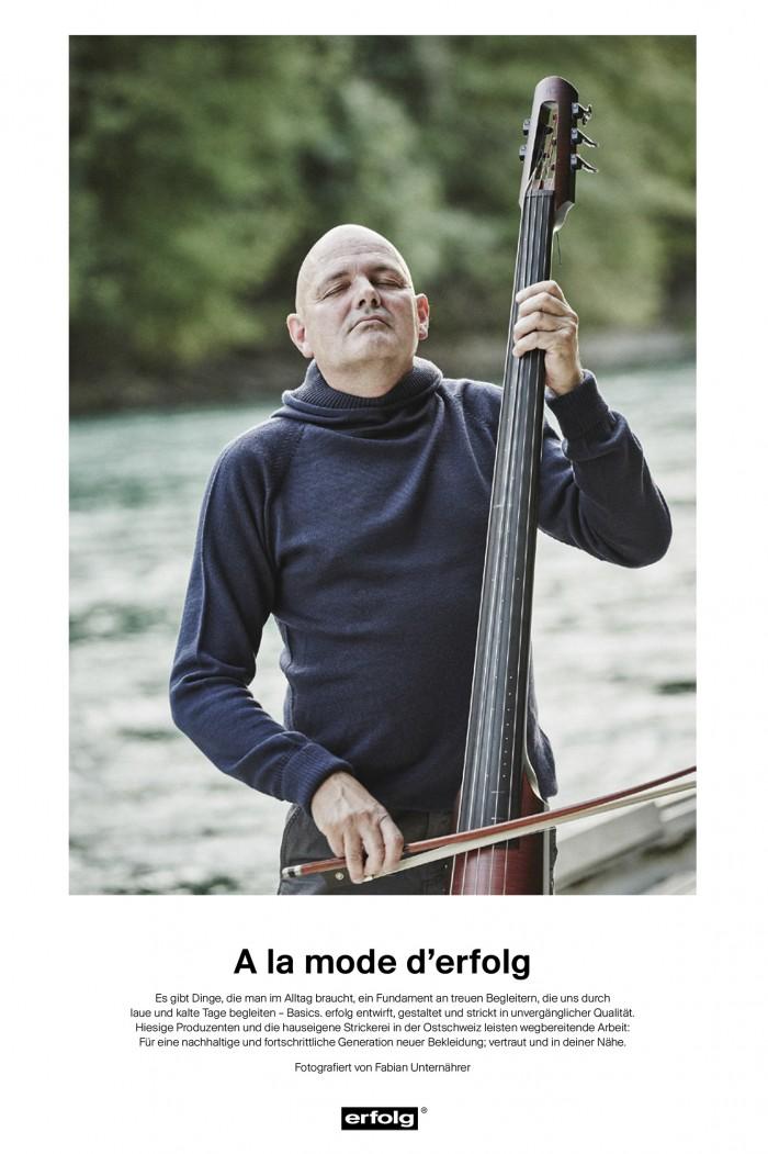 Fabian Unternaehrer Mich Gerber Musiker Bassist Fährmann Modelabel erfolg