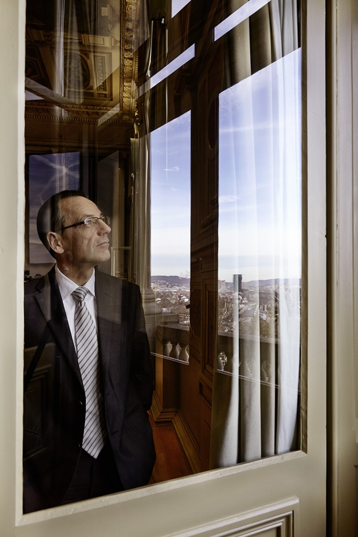Noe Flum ETH Prof. Dr. Lino Guzella Präsident ETH Zürich