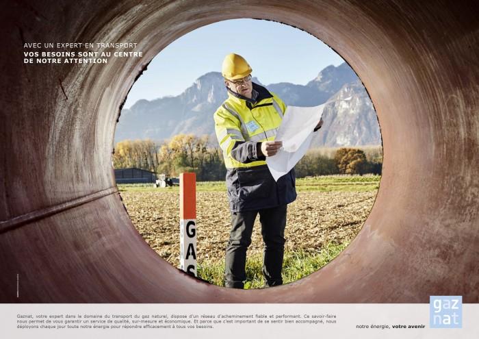 Markus Bertschi Gaznat Transport Erdgas Rohr Mitarbeiter