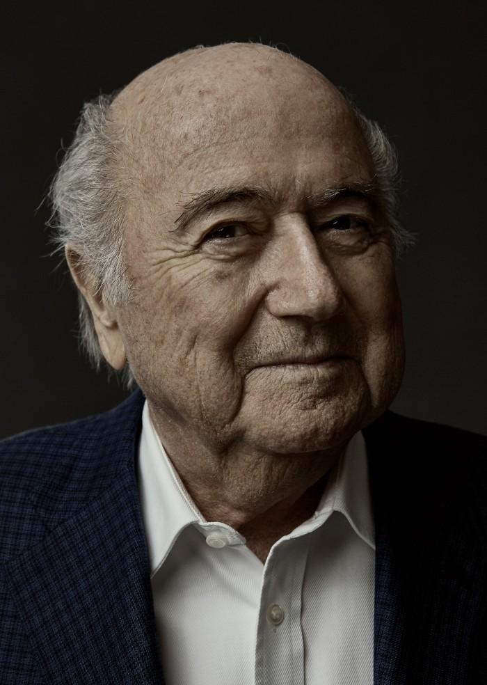 Noe Flum Joseph Blatter Sepp Weltfussballverband Fifa Präsident gesperrt Fussballfunktionaer