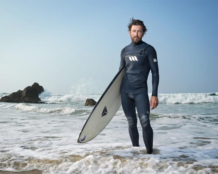 Christian Gerber Victoria Loesch Surfer Schweizermeisterschaft 2014 San Vicente Spanien Meer