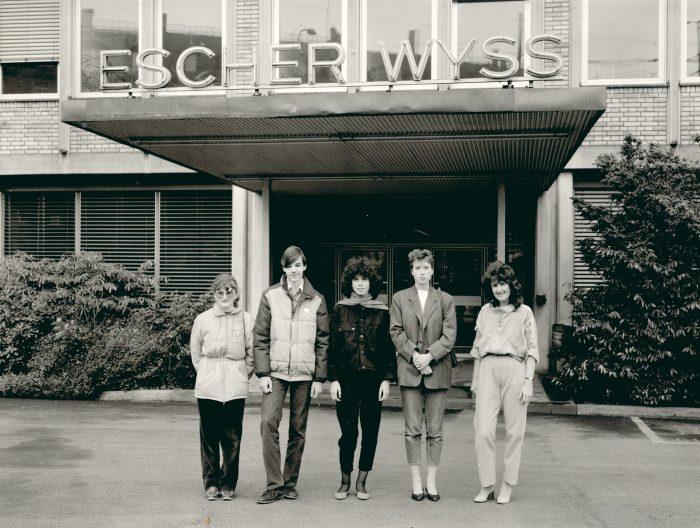 MAN D&T Ausstellung Lehrlingseintritte 1983 Escher Wyss Firmenarchiv Stadt Zürich