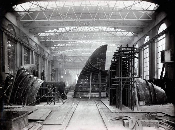 MAN D&T Ausstellung Werkhalle Escher Wyss Firmenarchiv Stadt Zürich