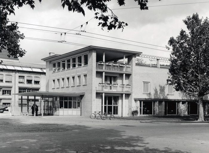 MAN D&T Ausstellung Wohlfahrtshaus Escher Wyss Firmenarchiv Stadt Zürich