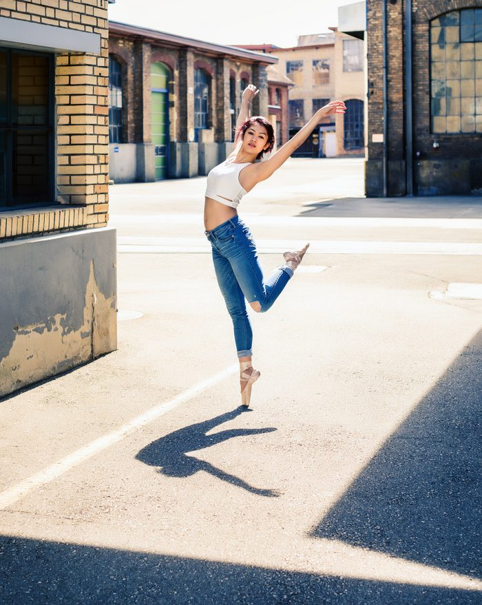 Jos Schmid Audrey Moreno Taenzerin Urban Dance Street