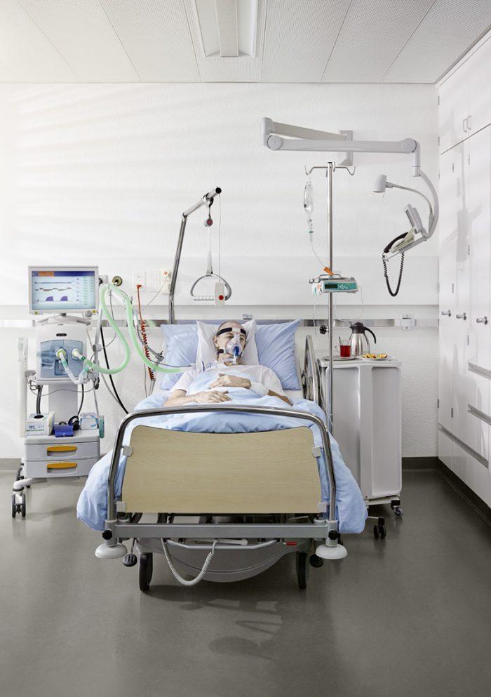 Noe Flum SuvaPro Kampagne Asbest Spitalzimmer