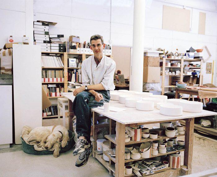 Mischa Haller Edmund Dewaal britischer Keramiker Professor Autor Atelier