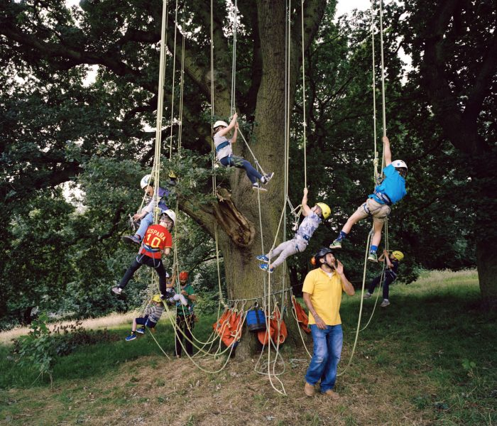 Mischa Haller London Zone 3 tree climbing kids