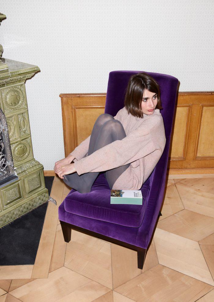 Noe Flum Kein & Aber Verlag Dagna Litzenberger Buch Kachelofen Sessel