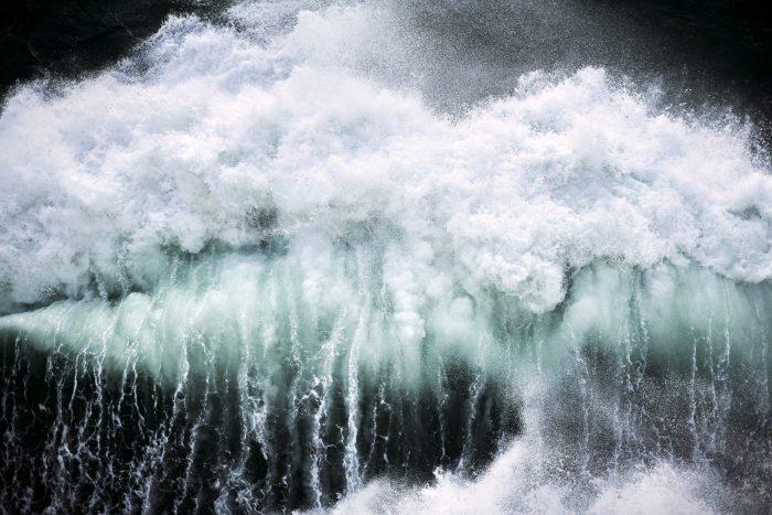 Fabian Unternaehrer at sea Irland Wasser