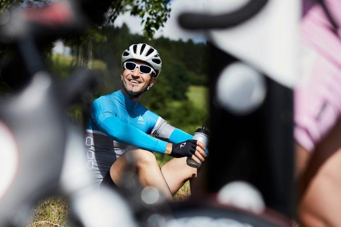 Markus Bertschi LUKB Expert-Vorsorge Velofahrer Rennvelo