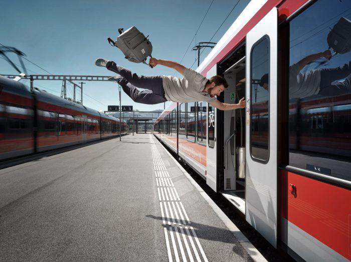 Noe Flum Suedostbahn SOB Parkour Zug