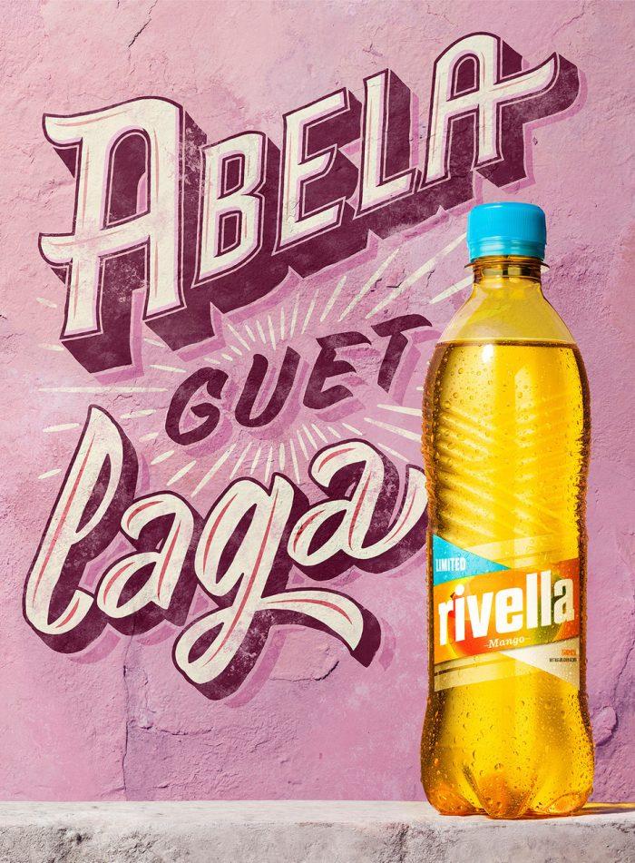 Felix Streuli Rivella rot Getränk Petflasche