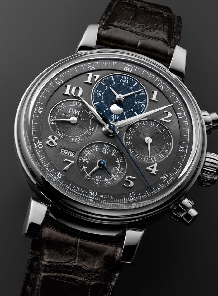 Felix Streuli IWC Da Vinci dial Uhr watch