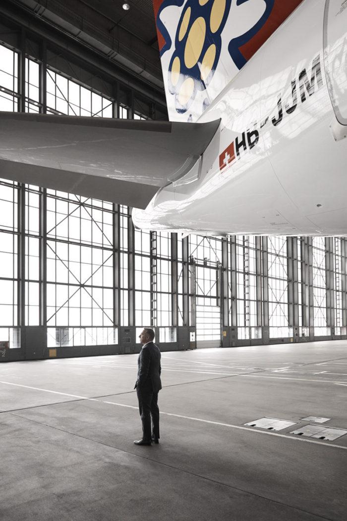 Noe Flum Bernd Bauer CEO Edelweiss Air