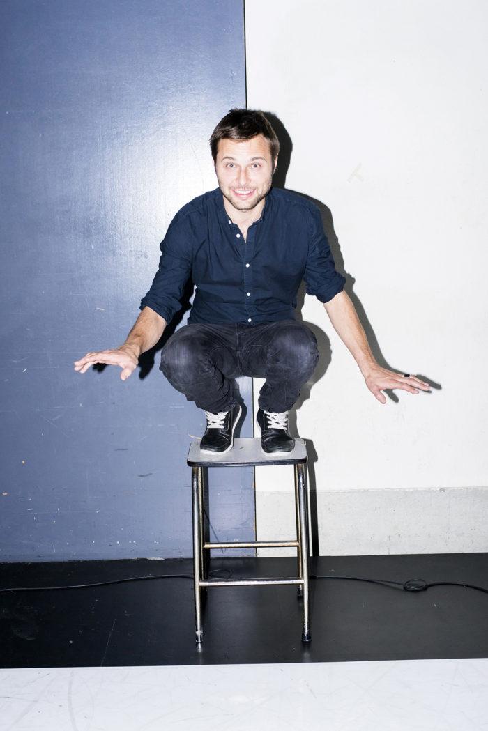 Fabian Unternaehrer Nils Althaus Kabarettist Schauspieler Musiker effektiver Altruist Balance