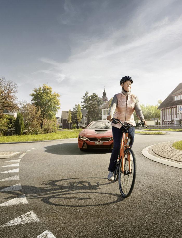 Noe Flum Pro Velo VCS Fahr sichtbar Kreisel Velo BMW