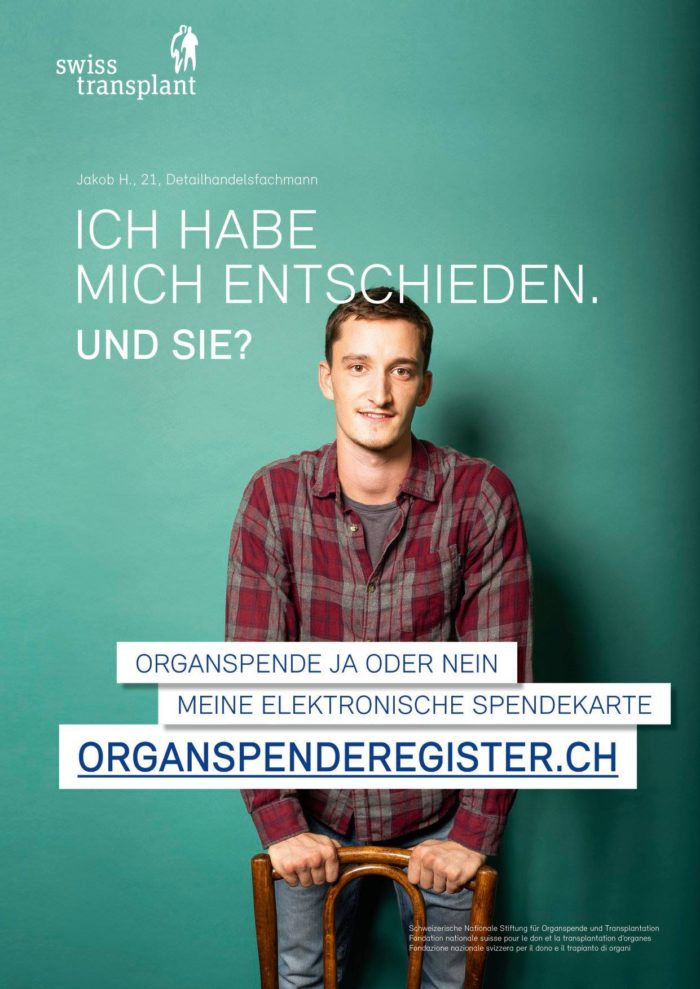 Fabian Hugo Swisstransplant Organspenderegister