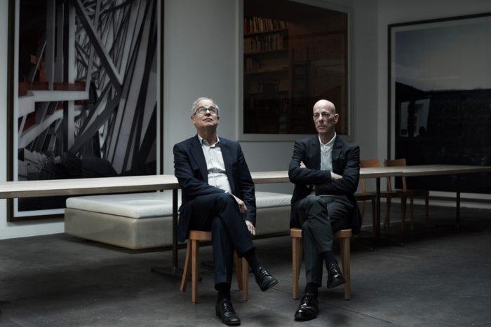 Simon Habegger Pierre de Meuron Jacques Herzog Architekten Architekturbüro Herzog & De Meuron Basel