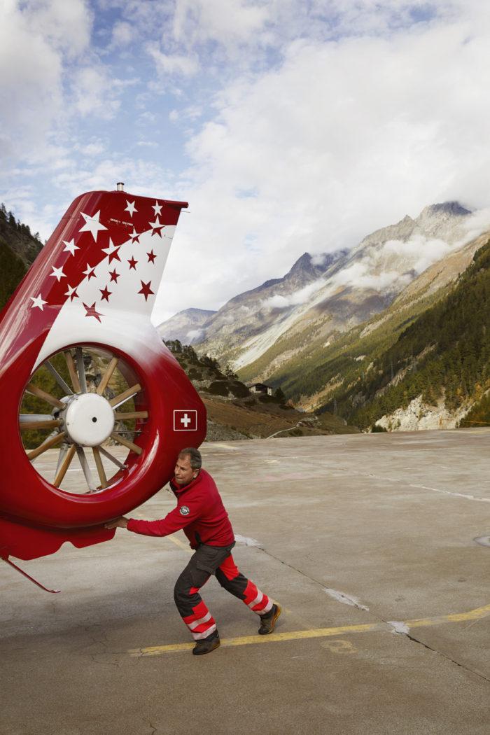 Noe Flum Air Zermatt