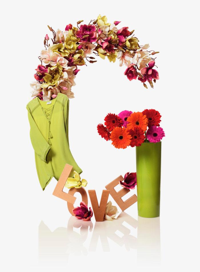 Felix Streuli Gaeupark kreativ Alphabet Buchstabe G Blumen Vase Love