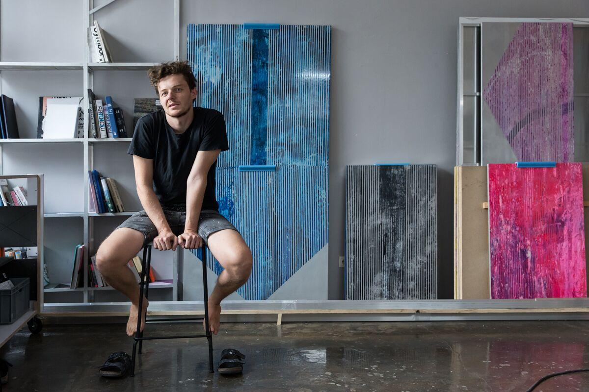 Markus Roessle Georg Haberler Künstler Oesterreich Atelier