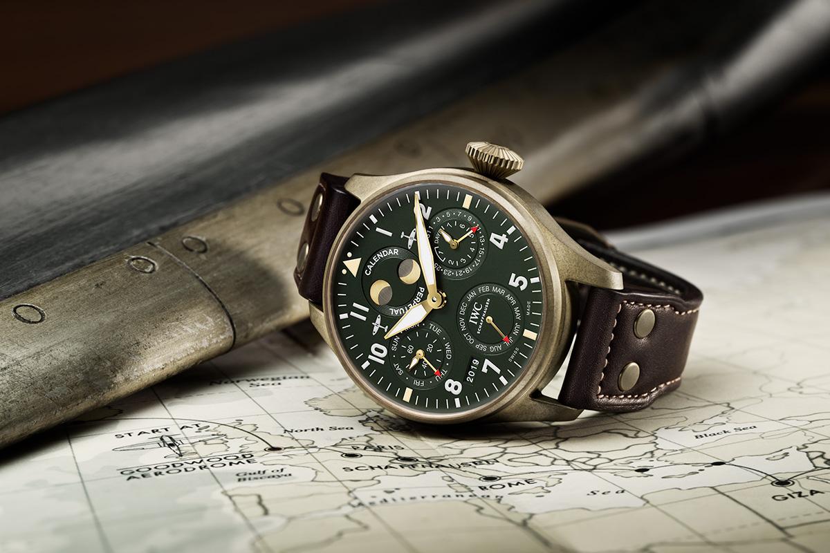 Felix Streuli IWC Big Pilot's Watch Perpetual Calendar Spitfire Bronze Gehäuse