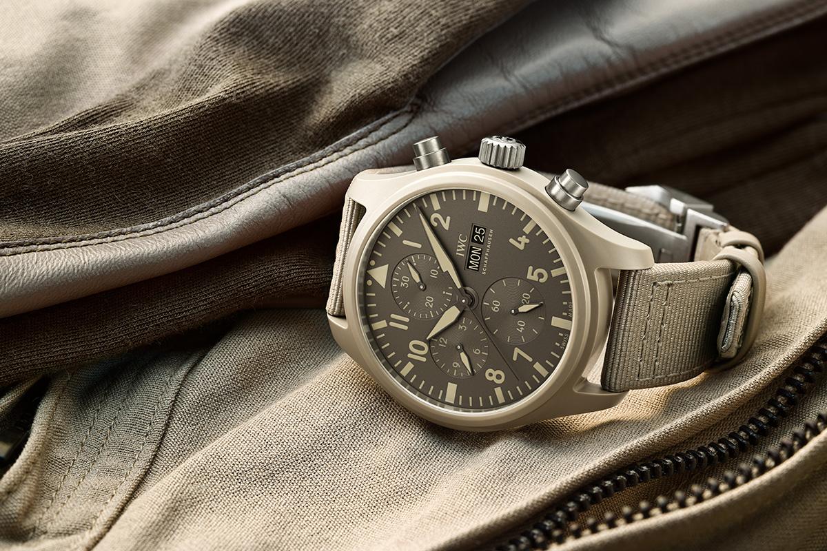 Felix Streuli IWC Pilot's Watch Chronograph Top Gun Edition «MOJAVE DESERT» Keramik Gehaeuse