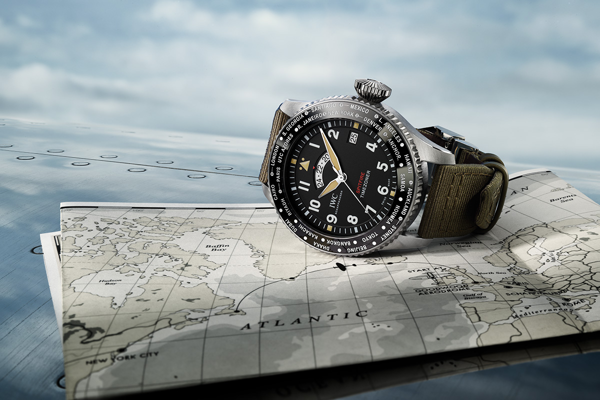 "Felix Streuli IWC Pilot's Watch Timezoner Spitfire Edition ""The Longest Flight"""