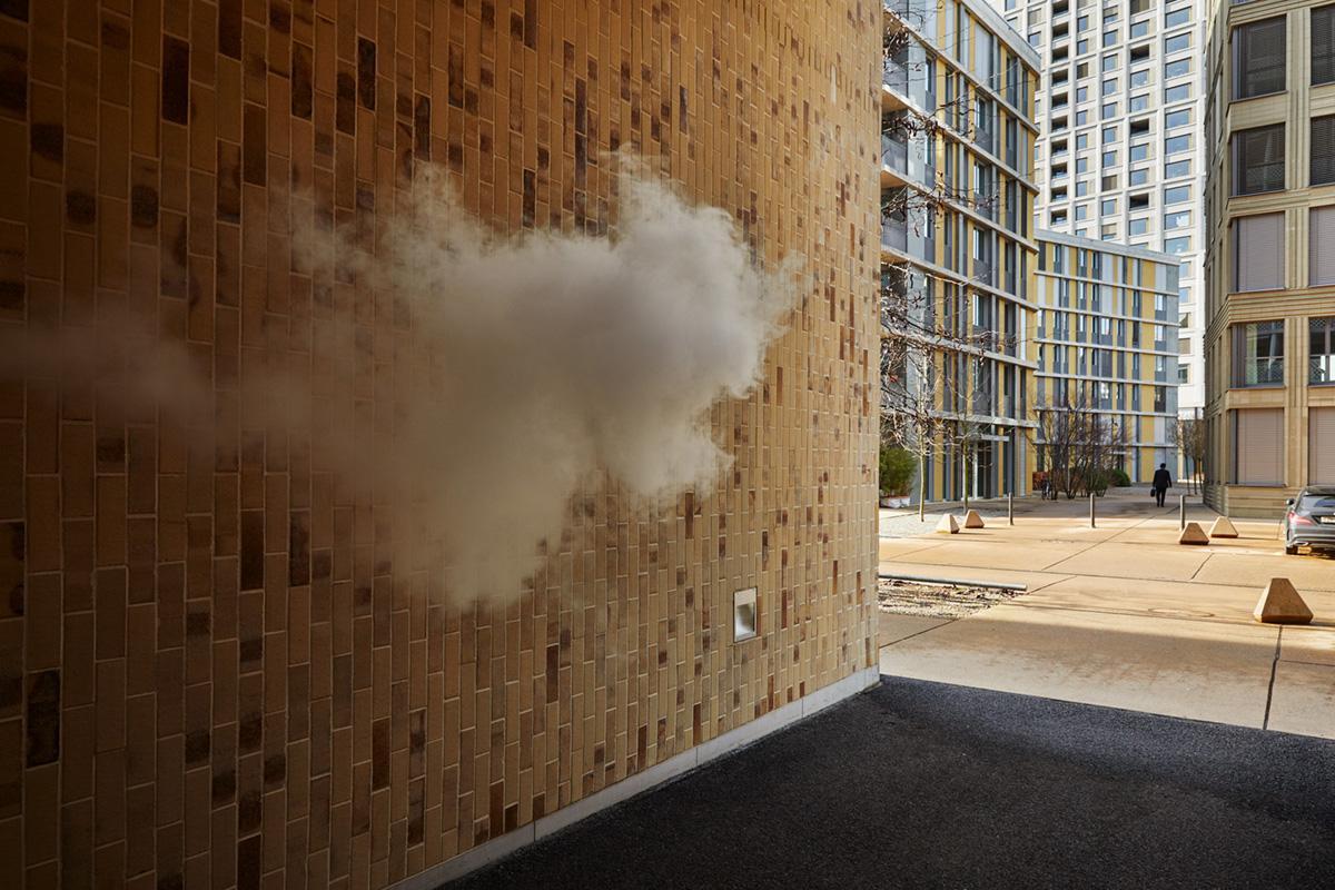 Noe Flum Valora e-smoke E-Zigarette dampfen vapen Dampf Wohnsiedlung Hochhaus
