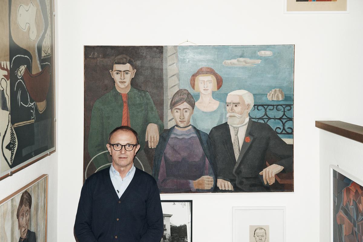 Fotograf Simon Habegger Boesiger Langenthal Innenarchitektur Schreinerei Portrait Malerei