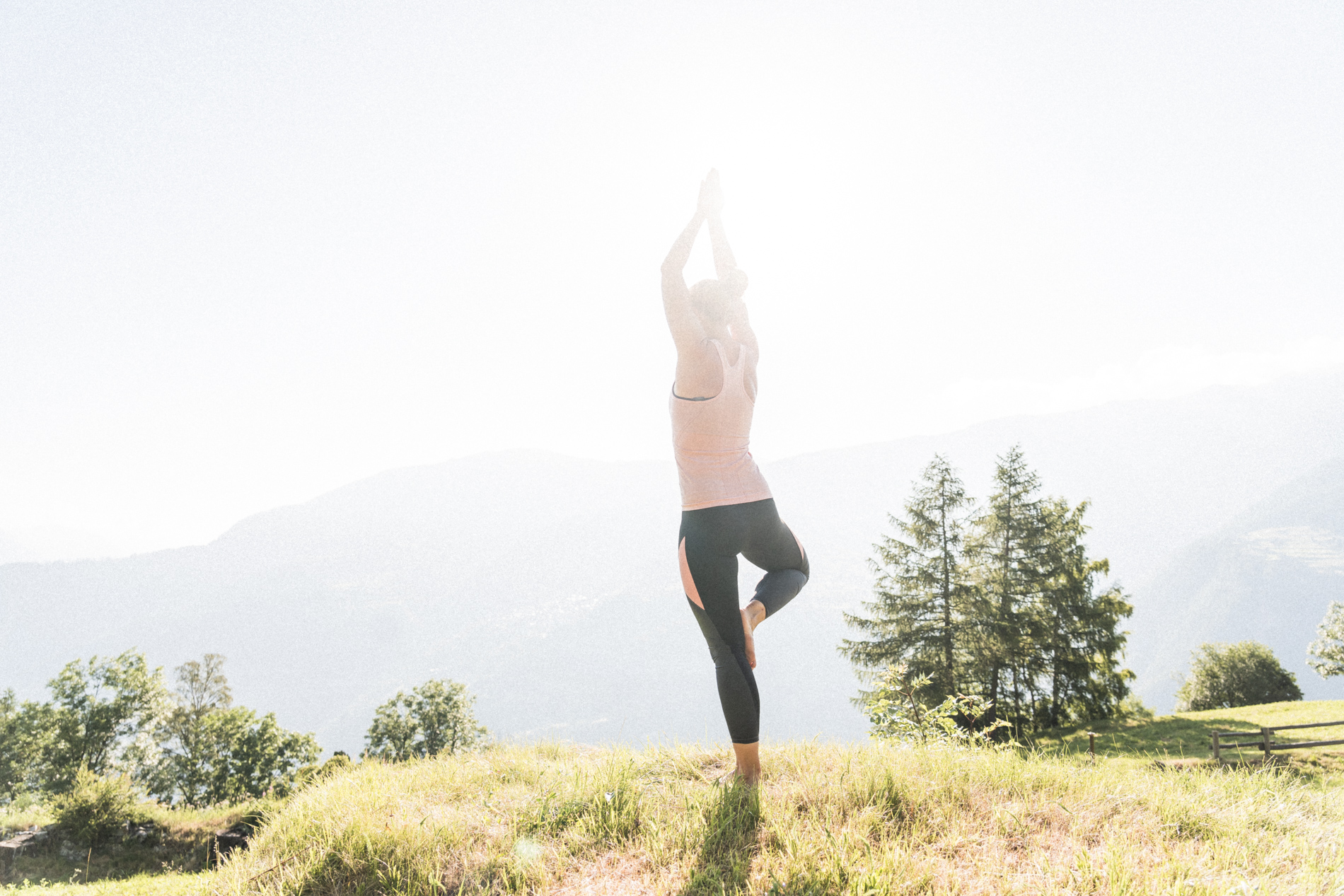 Fabian Hugo Moosalp Region Wallis Yoga Entspannung