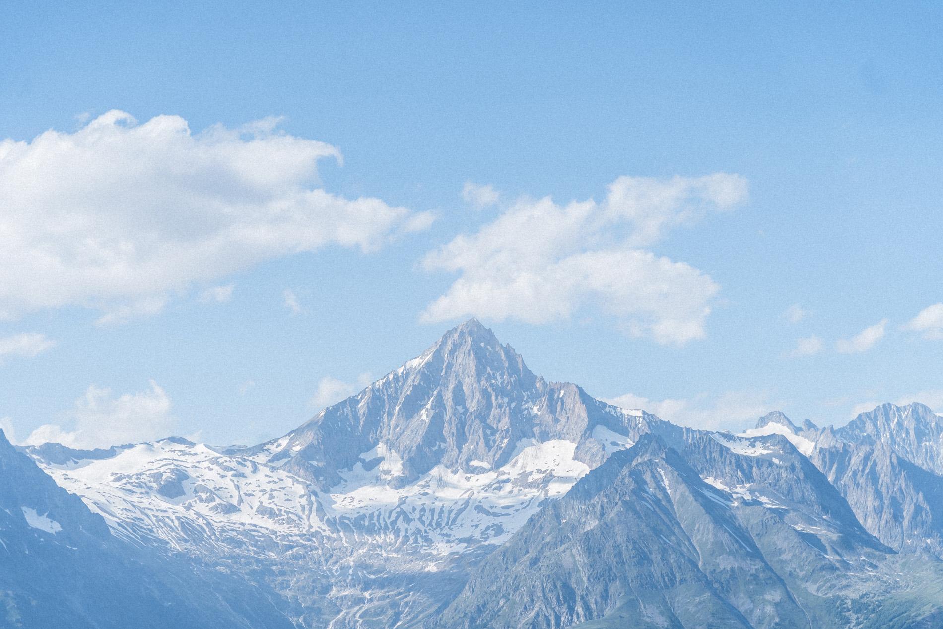 Fabian Hugo Moosalp Region Wallis Aussicht Bergpanorama