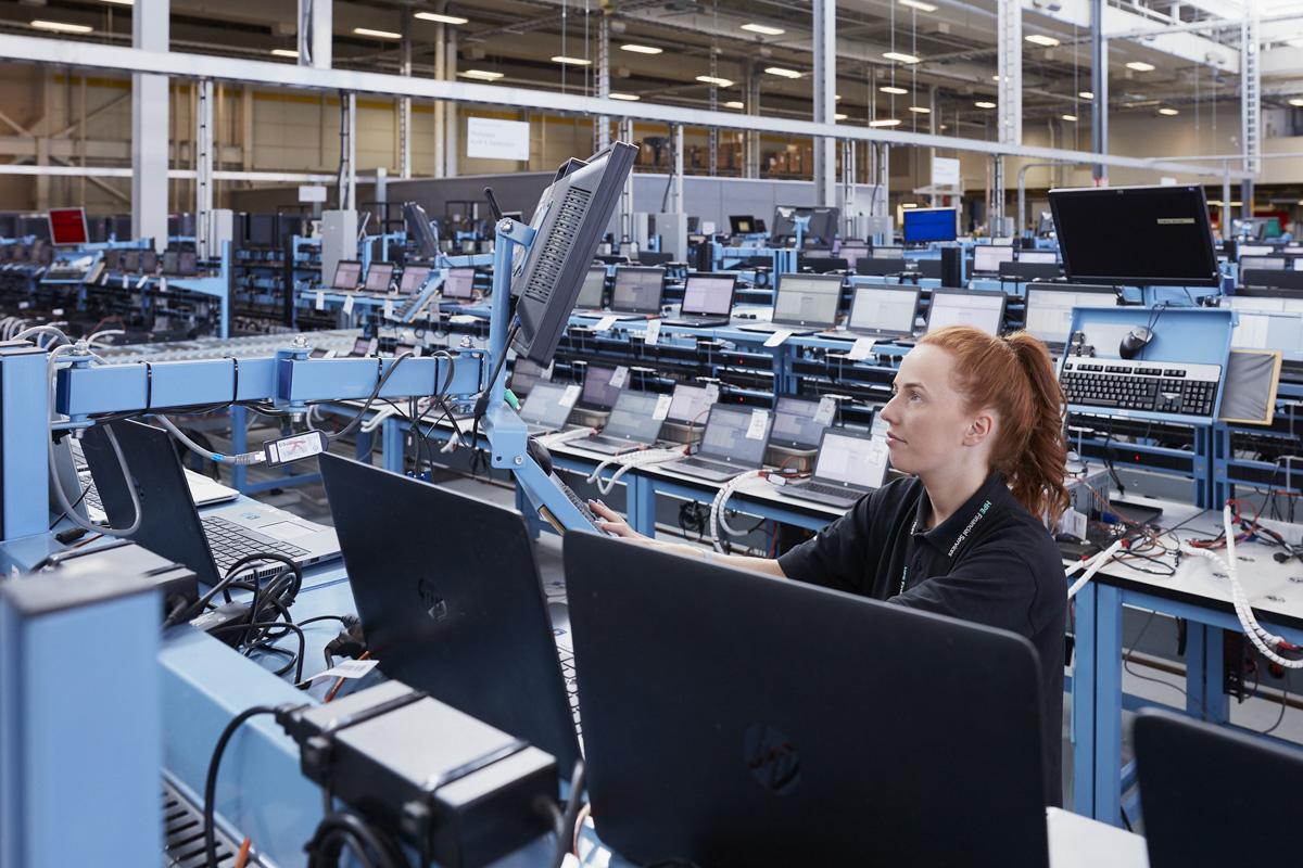 Mischa Haller HPE Technology Renewal Center Erskine Scotland factory production