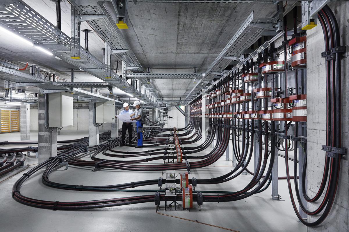 Noë Flum Elektrizitätswerke des Kantons Zürich EKZ Kabelkeller Planung Engineering